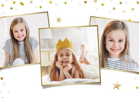 Einladung zur Kommunion Fotokarte Mädchen 2