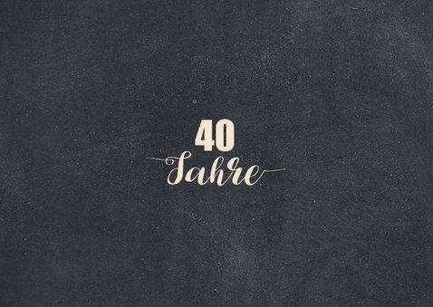Einladungskarte zum Geburtstag Kindheit 40 2