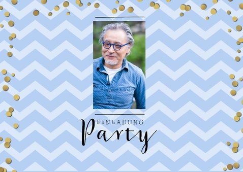 Einladungskarte zur Ruhestand-Party 2