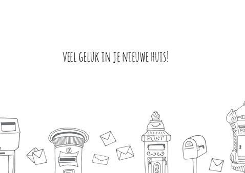 Felicitatie adres brievenbussen 3