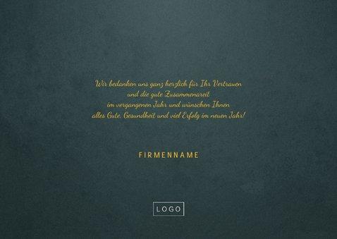 Firmen-Weihnachtskarte Foto & Weihnachtsbaum Verbindungen 3
