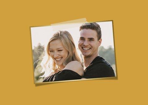 Foto-Grußkarte 'Du bist mein Lieblingsmensch' 2