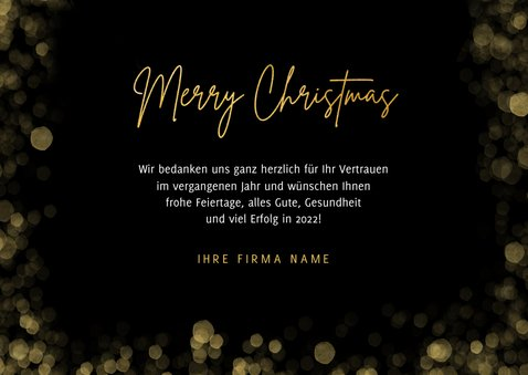 Foto-Weihnachtskarte geschäftlich 3