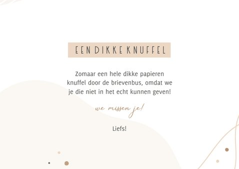 Fotocollage abstract dikke knuffel 3