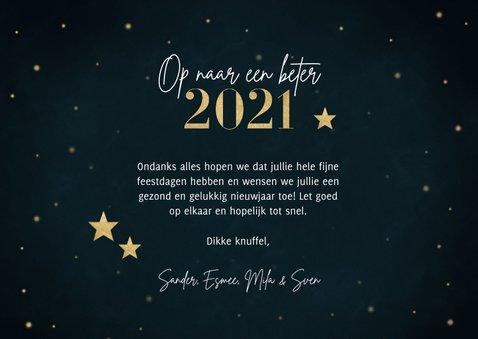Fotocollage nieuwjaarskaart 2020 wat een jaar met sterren 3