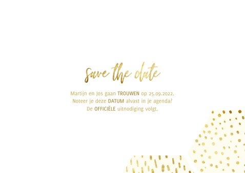 fotocollage zeshoek fotocollage met gouden confetti 3