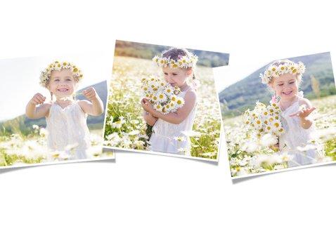 Fotokaart liggend  met 1 grote foto op de voorkant 2