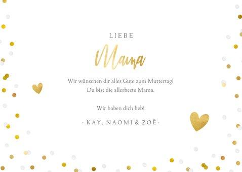 Fotokarte 'Alles Liebe zum Muttertag' 3