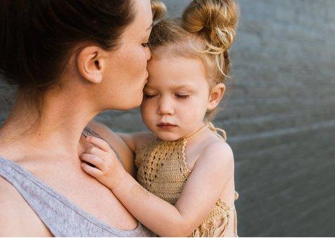 Fotokarte 'Die beste Mama' mit Herzen 2