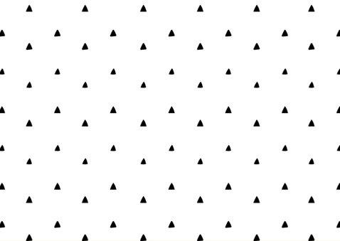 Geboortekaartje meerling met stoere driehoekjes 2
