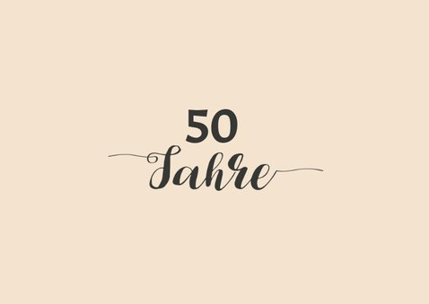 Geburtstagseinladung Gut aussehen 50 2