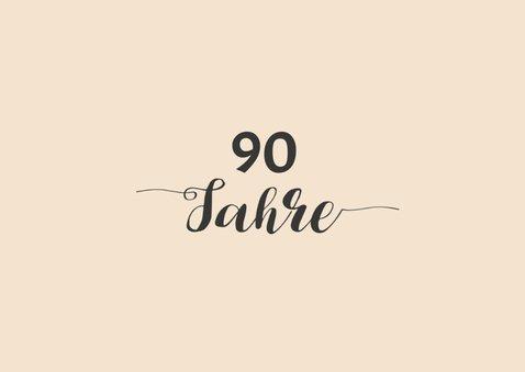 Geburtstagseinladung Gut aussehen 90 2
