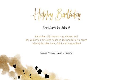 Geburtstagskarte 3 Fotos mit Datum 3