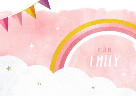 Geburtstagskarte Glückwunsch Einhorn Foto 2