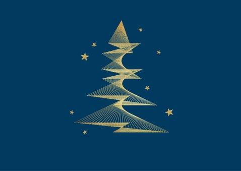 Geschäftliche Weihnachtskarte Foto grafischer Weihnachtsbaum 2