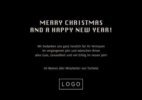 Geschäftliche Weihnachtskarte IT mit Quellcode 3