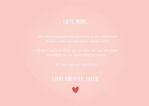 Grappige moederdagkaart moeder en dochter relation-chip 3