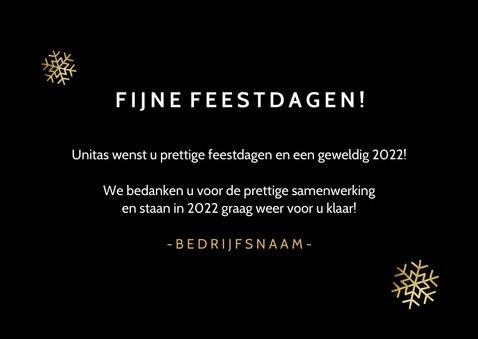 Grappige zakelijke kerst /nieuwjaars kaart met laadbalk 2022 3