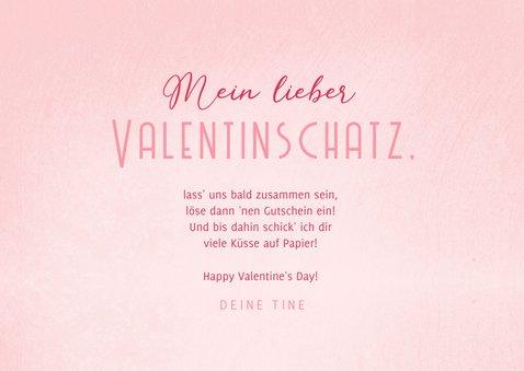 Grußkarte Valentinstag Valentinsgutscheine 3