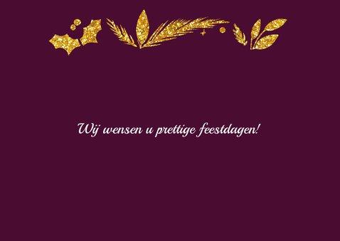 Happy Holidays goud met logo 2