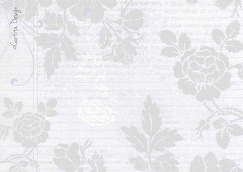 Huwelijksjubileum Bloemen Hart 2