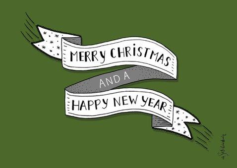 Kerst banner eigen kleur liggend  2