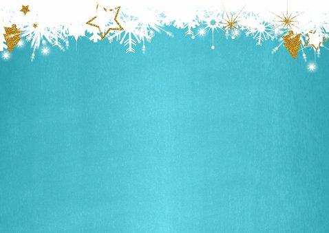 Kerst foto blauw twinkelingen 2