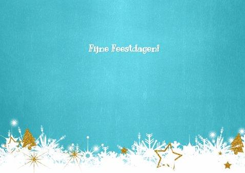 Kerst foto blauw twinkelingen 3