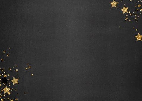 Kerst hippe foto kaart krijtbord sterren Lovely Christmas 2