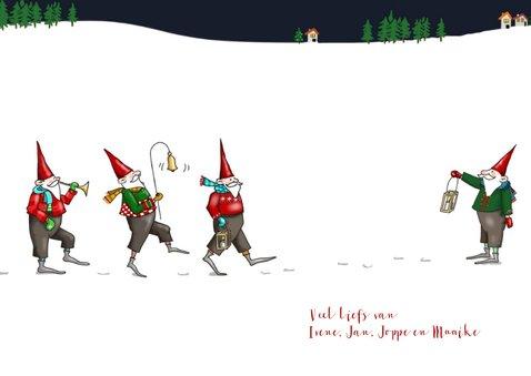 Kerst - Negen kerstmannetjes op kerstavond 3