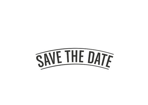 Kerst Save the date kaart 2