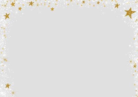 Kerst stijlvolle kaart met een fotokader van sterretjes 2
