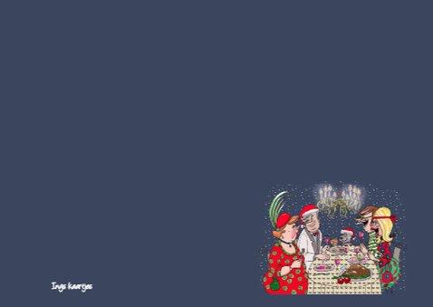 Kerstdiner kroonluchter 3