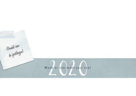 Kerstkaart 2020, notes met inspirerende tekstjes 3