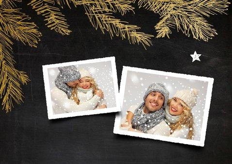 Kerstkaart collage krijtbord - SG 2
