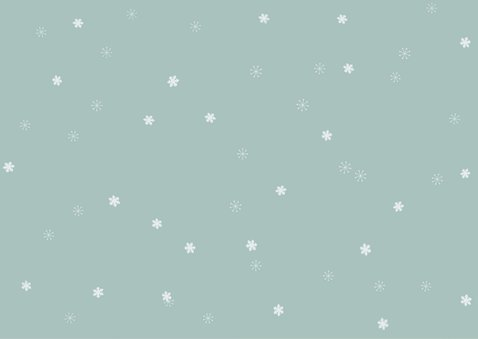 Kerstkaart met 6 foto's op een zachte achtergrond en sterren 2