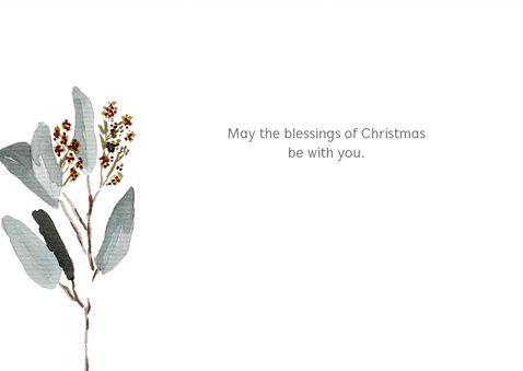 Kerstkaart mint takje Opwekking 529 3