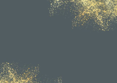 Kerstkaart nieuwjaar fijne feestdagen goud foto's Achterkant