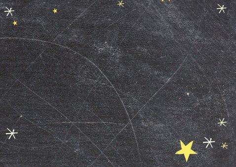 Kerstkaart Schoolbord foto-BF 2