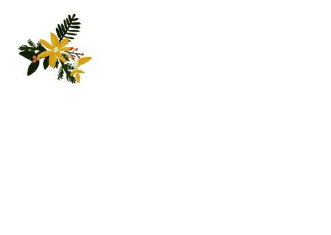 Kerstkaart streep -HM 2