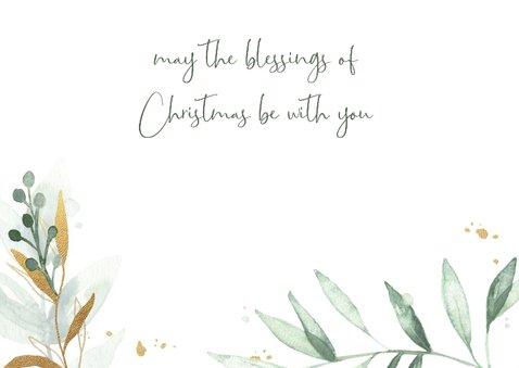 Kerstkaart waterverf Immanuel 3