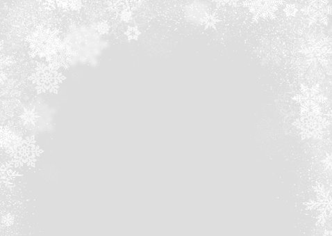 Kerstkaart winter 3 foto's langwerpig 2