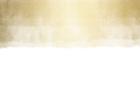 Kerstkaart zakelijk fotocollage met gouden waterverf Achterkant