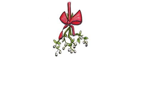 Kerstkaarten liefde verklaren met kerst 2