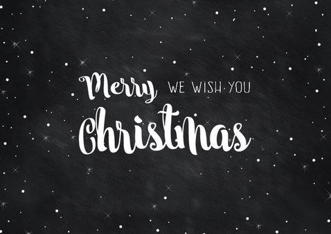 Kerstwens met mooie letters 2