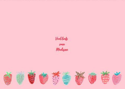 Kinderfeestje Aardbeien Rood fruit 3