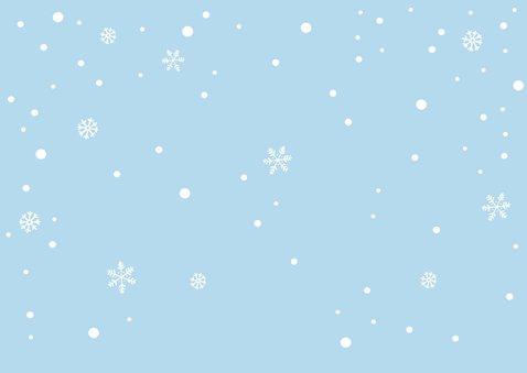 Kinderfeestje uitnodigingskaart winter vosje Achterkant