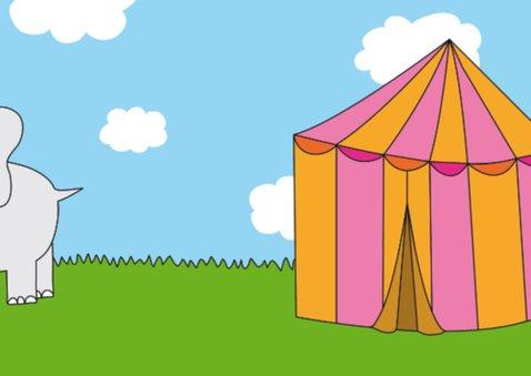 Kinderkaart Circus 2