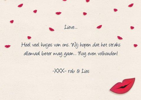 Kusjeskaart many kisses for you! 3