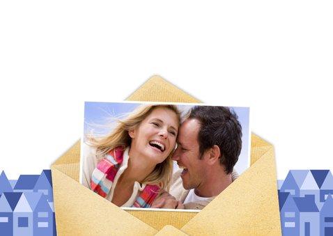 Leuke verhuiskaart met envelop en eigen foto's 3